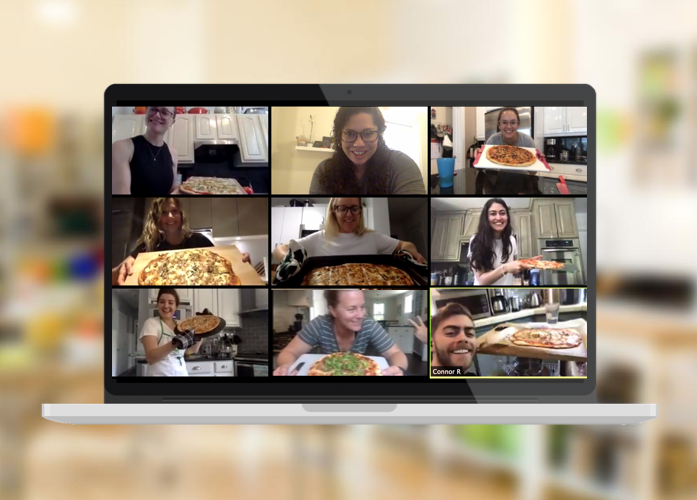 Virtual Corporate Cooking Class with Taste Buds Kitchen