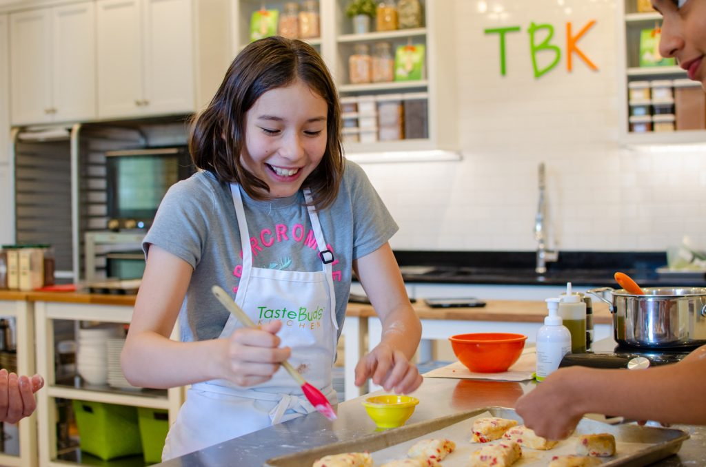 Have fun at a Kids Cooking Birthday Party at Taste Buds Kitchen