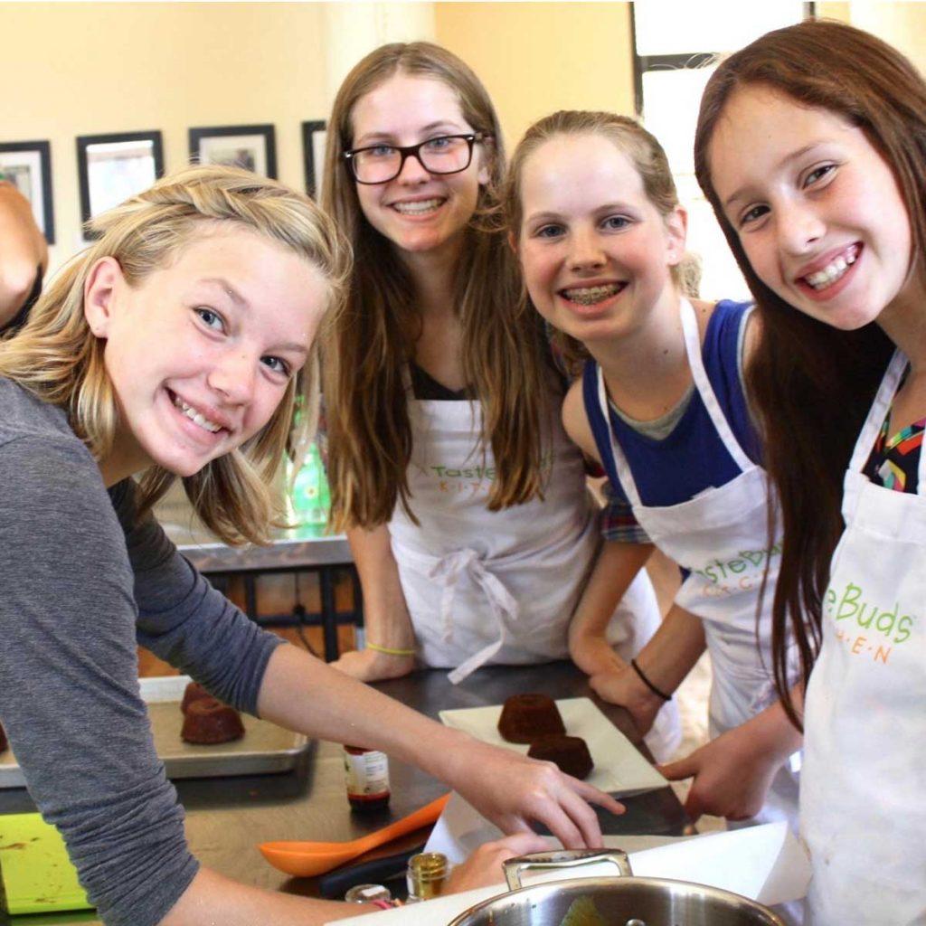 Kids baking classes at Taste Buds Kitchen