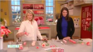 On the Martha Stewart Show