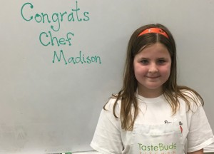 Junior Chef of the Month: Madison