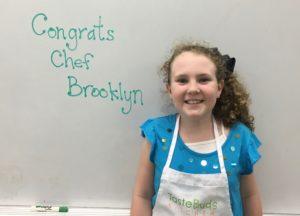 Junior Chef of the Month: Brooklyn