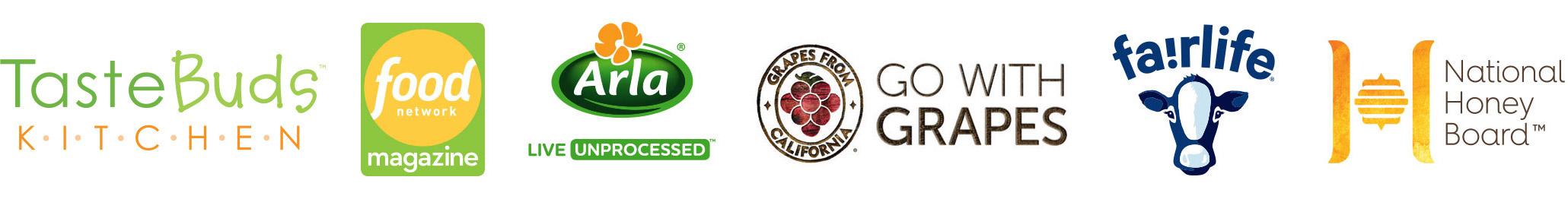 food network magazine tastebuds kitchen logos