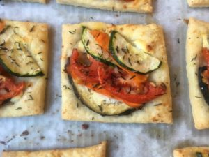 New Year, New You: Ratatouille Tarts