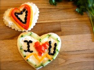 Cute Veggie Valentines
