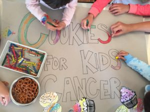 Baking Cookies for a Great Cause