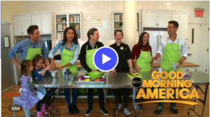Good Morning America Visits Our Kitchen
