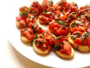 Holiday Appetizer Recipe: Bruschetta