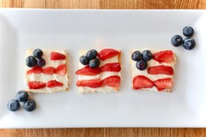American Flag Sugar Cookies