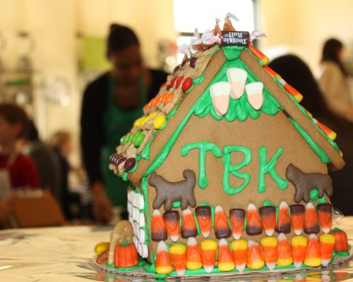 Gingerbread Haunted House event